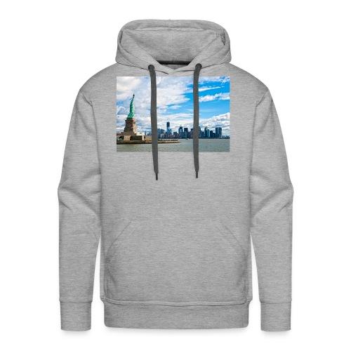New York Skyline - Men's Premium Hoodie