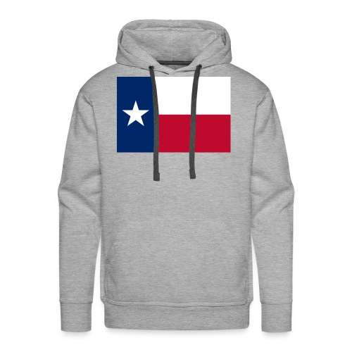 2000px Flag of Texas svg - Men's Premium Hoodie
