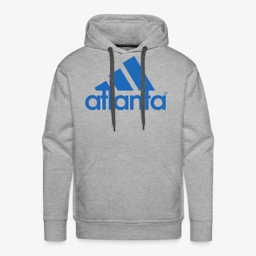 adlanta blue edges - Men's Premium Hoodie