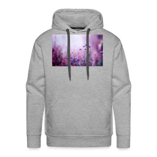 Life's field of flowers - Men's Premium Hoodie