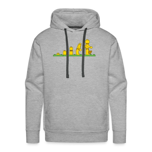 Lego Man Evolution - Men's Premium Hoodie