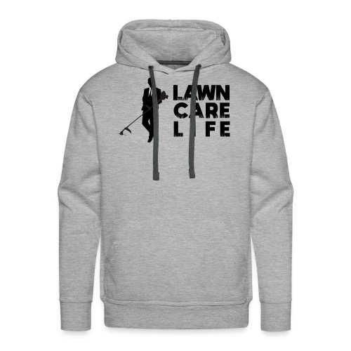Lawn Care Life with Man - Men's Premium Hoodie