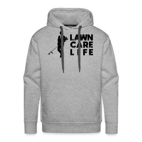 Lawn Care Life with Man - Men's Premium Hoodie