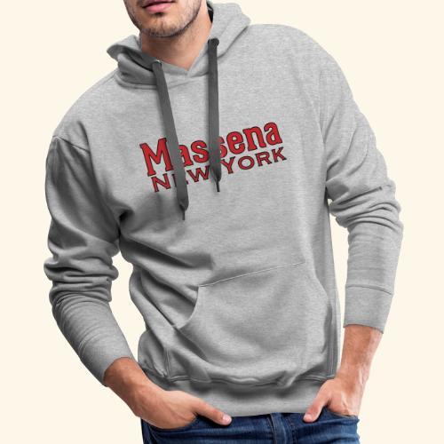 Massena New York - Men's Premium Hoodie