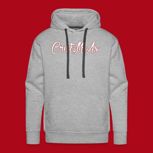 Christmas TEXT - Men's Premium Hoodie