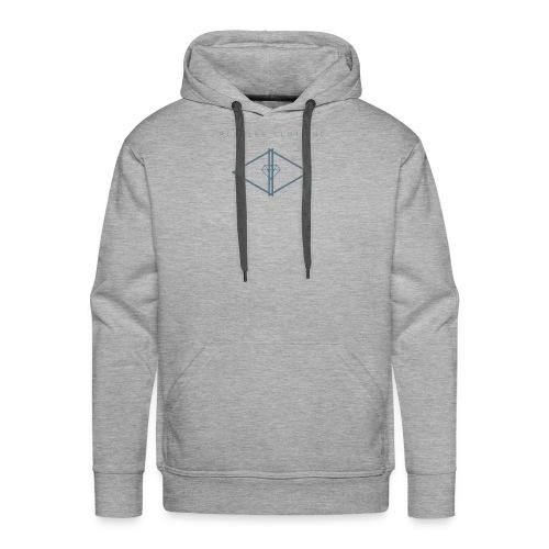 Bootleg Diamond Logo - Men's Premium Hoodie