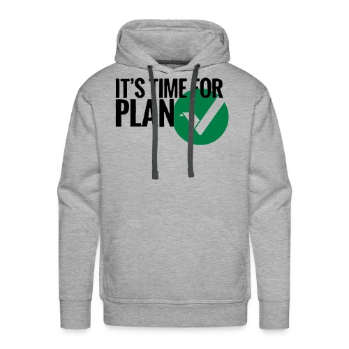 Time for Plan V(ertcoin) - Men's Premium Hoodie