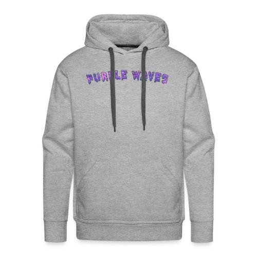 Purple Waves - Men's Premium Hoodie