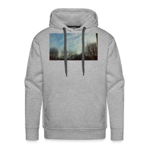 jersery winter sky - Men's Premium Hoodie