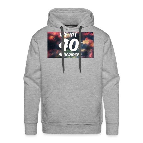 Lankydiscmaster's 40 subs shirt and more - Men's Premium Hoodie