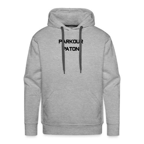 Parkour Paton Design 2 - Men's Premium Hoodie