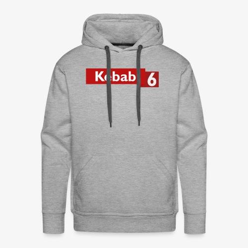 Kebab red logo - Men's Premium Hoodie