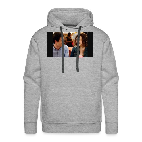 Clay and Hannah together - Men's Premium Hoodie