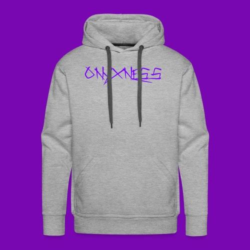 OnyxNess (Purple) - Men's Premium Hoodie