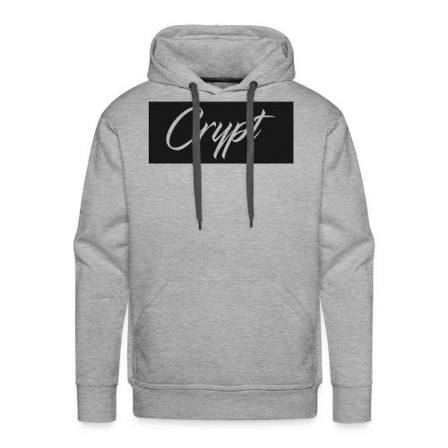 Crypt Logo Clothing - Men's Premium Hoodie