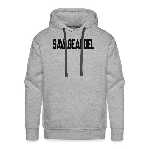 SAVAGEABDELBLACK - Men's Premium Hoodie