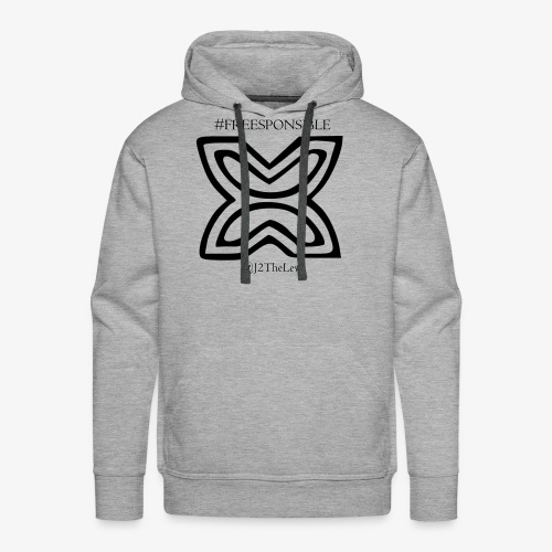Freedom Symbol Black - Men's Premium Hoodie