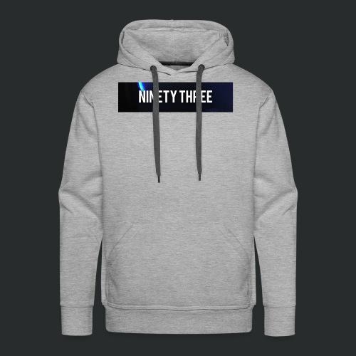Ninety Three Official (1st Cop) - Men's Premium Hoodie