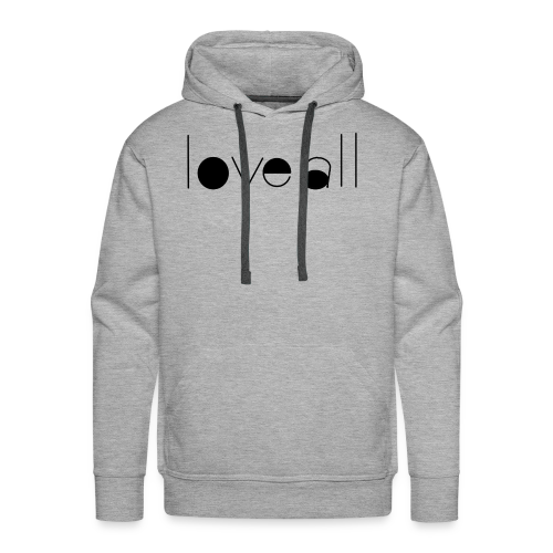love all - Men's Premium Hoodie