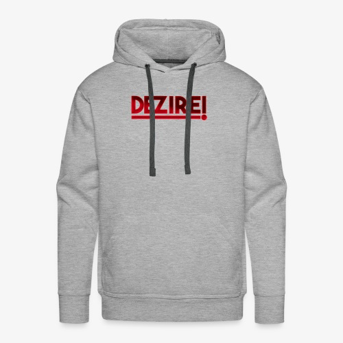 Dezire | Metallic Red - Men's Premium Hoodie