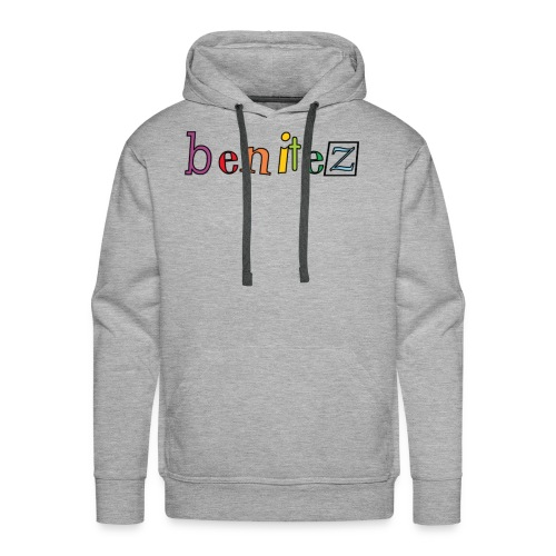 Benitez Rainbow Text - Men's Premium Hoodie