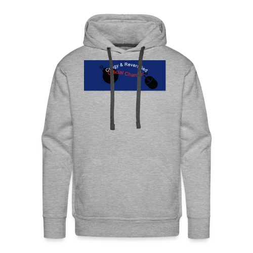 Cringy+Reversified YouTube Logo - Men's Premium Hoodie