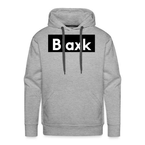 Blaxk Box Logo - Men's Premium Hoodie