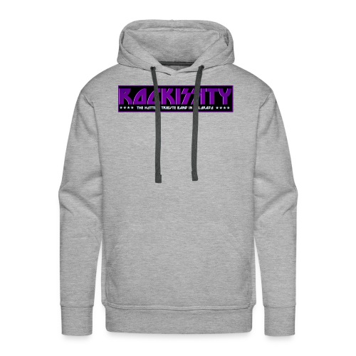 ROCKISSITY the Black Light Logo - Men's Premium Hoodie