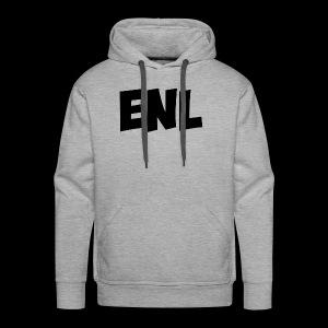 ENL Productions Merchandise (Black) - Men's Premium Hoodie