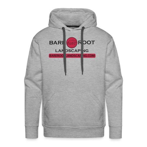 Bare Root Logo- Black - Men's Premium Hoodie