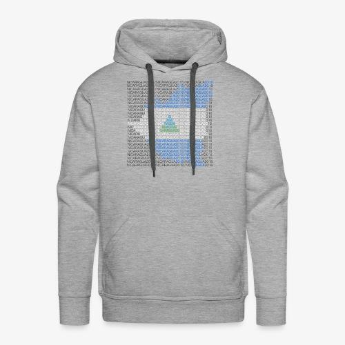 Nicaragua 2018 Flag - Men's Premium Hoodie