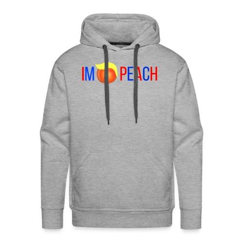 IMPEACH / RED+BLUE - Men's Premium Hoodie