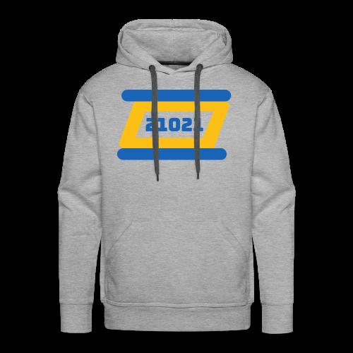 21021 Golden State - Men's Premium Hoodie