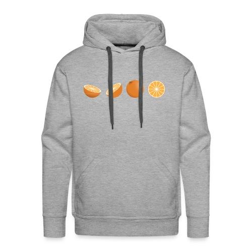 oranges - Men's Premium Hoodie