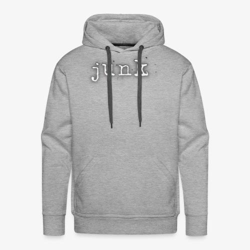 Junk Text Logo Hoodie - Men's Premium Hoodie