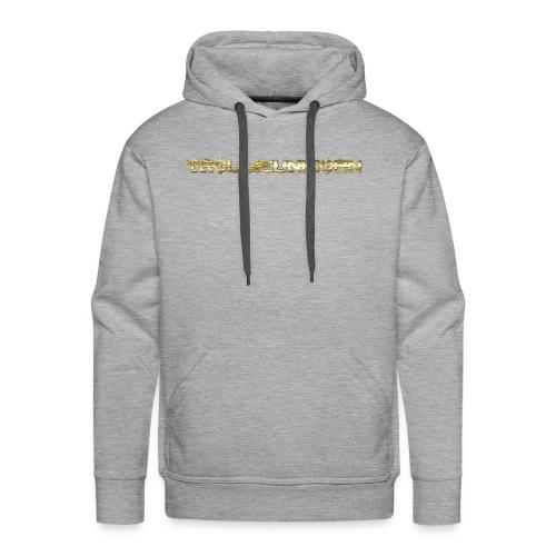 TROLLIEUNICORN gold text limited edition - Men's Premium Hoodie