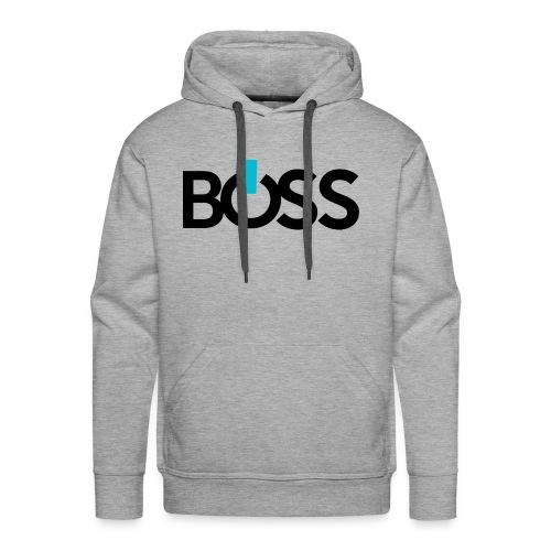 Boss Logo CMYK - Men's Premium Hoodie