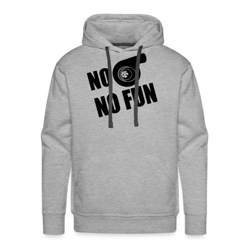 No Turbo No Fun - Men's Premium Hoodie