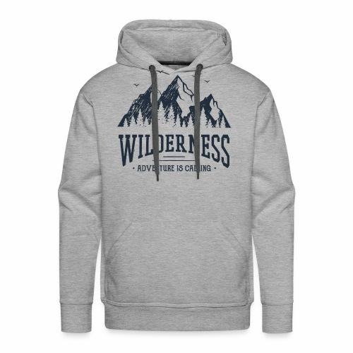 Wilderness - Wanderlust collection - Men's Premium Hoodie