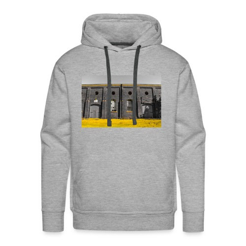Bricks: who worked here - Men's Premium Hoodie