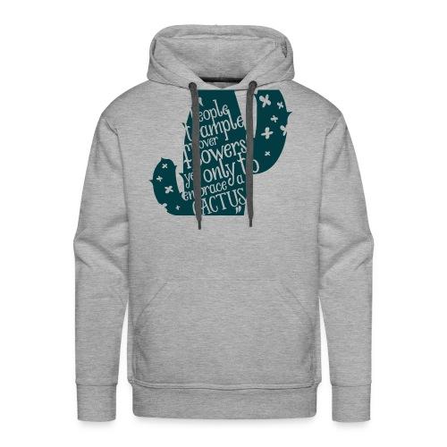 embrace the cactus - Men's Premium Hoodie