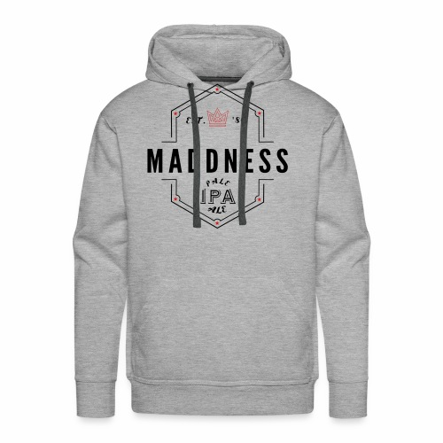 MADDNESS PALE ALE - Men's Premium Hoodie