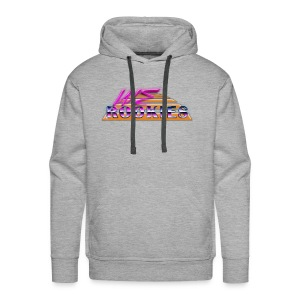 80s we Rookies T shirt design (transparent) - Men's Premium Hoodie