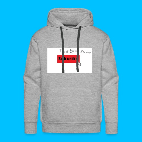 subscribe Sweat-Shirt - Men's Premium Hoodie