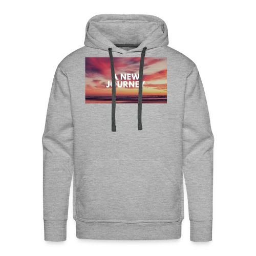 A New Journey - Men's Premium Hoodie