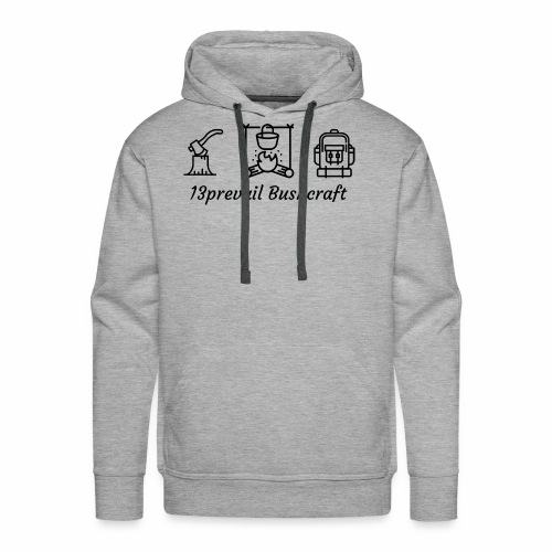 13prevail bushcraft - Men's Premium Hoodie