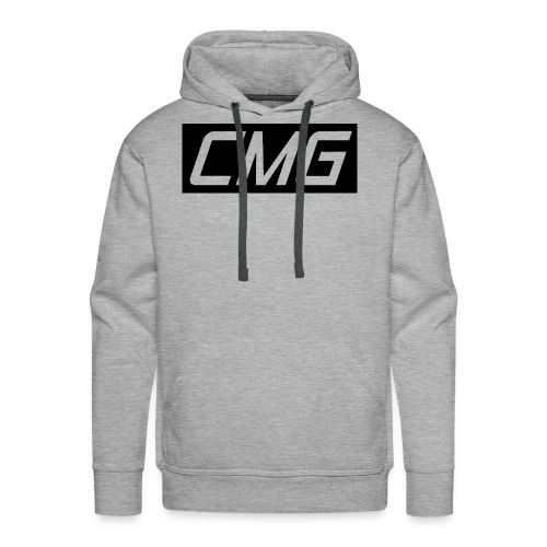 CMG Black Box Logo - Men's Premium Hoodie