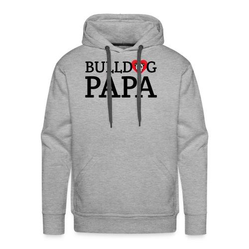 Bulldog Papa - Men's Premium Hoodie