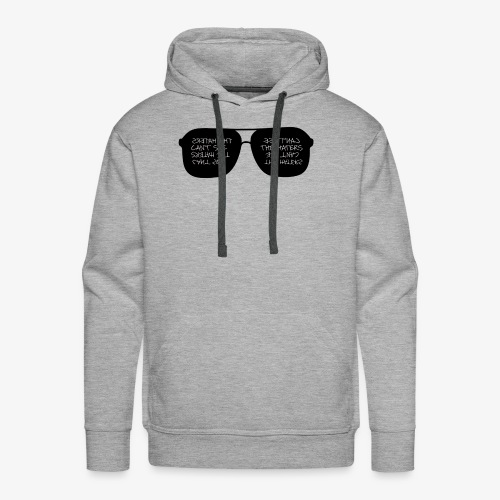 CAN'T SEE THE HATERS - Men's Premium Hoodie