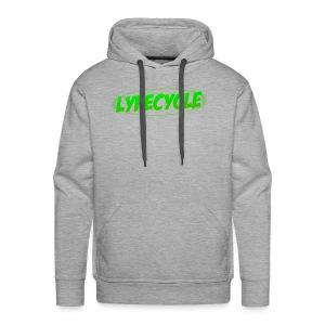 LYFECYCLE RETRO LOGO - Men's Premium Hoodie